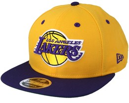 LA Lakers 9Fifty Of 2-Tone Yellow/Purple Snapback - New Era