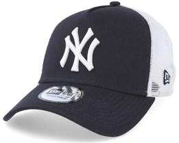 New York Yankees Clean 2 Navy/White Trucker - New Era