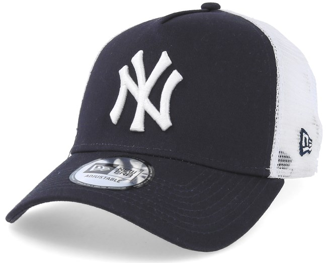 New York Yankees Clean 2 Navy White Trucker - New Era caps -  Hatstoreaustralia.com 5ecf6e5260