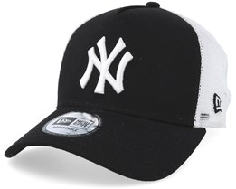 New York Yankees Clean 2 Black/White Trucker - New Era