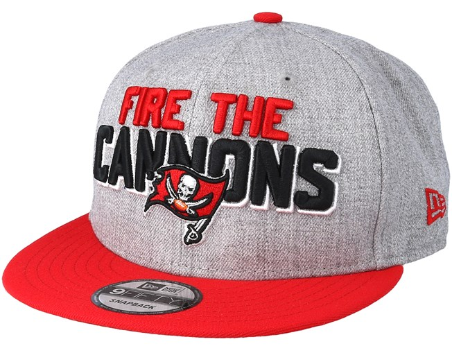 021a9e8dff0 Tampa Bay Buccaneers 2018 NFL Draft On-Stage Red Grey Snapback - New Era  caps - Hatstoreaustralia.com