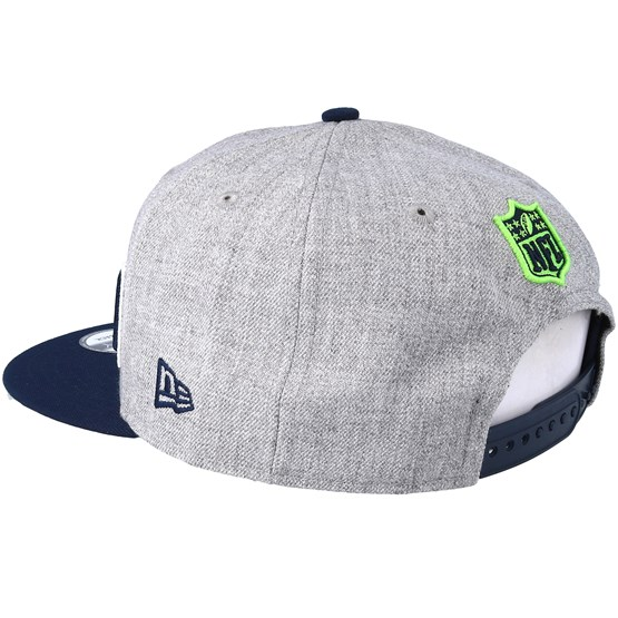 Seattle Seahawks 2018 NFL Draft On-Stage Grey Navy Snapback - New Era -  casquette  e73d377fa549