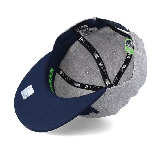 huge discount e52ee f0719 Seattle Seahawks 2018 NFL Draft On-Stage Grey Navy Snapback - New Era caps  - Hatstorecanada.com