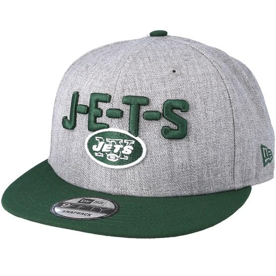 on sale 95637 826fd New York Jets 2018 NFL Draft On-Stage Grey Green Snapback - New Era caps -  Hatstoreworld.com