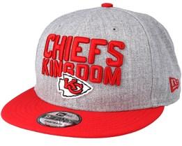 Kansas City Chiefs 2018 NFL Draft On-Stage Grey/Red Snapback - New Era