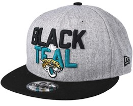 Jacksonville Jaguars 2018 NFL Draft On-Stage Grey/Black Snapback - New Era
