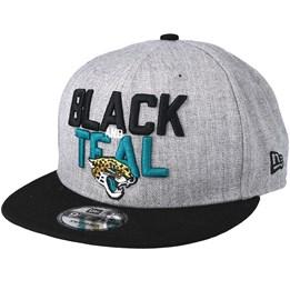 8a8803e90ff692 Almost Gone! New Era Jacksonville Jaguars 2018 NFL Draft On-Stage Grey/Black  Snapback ...