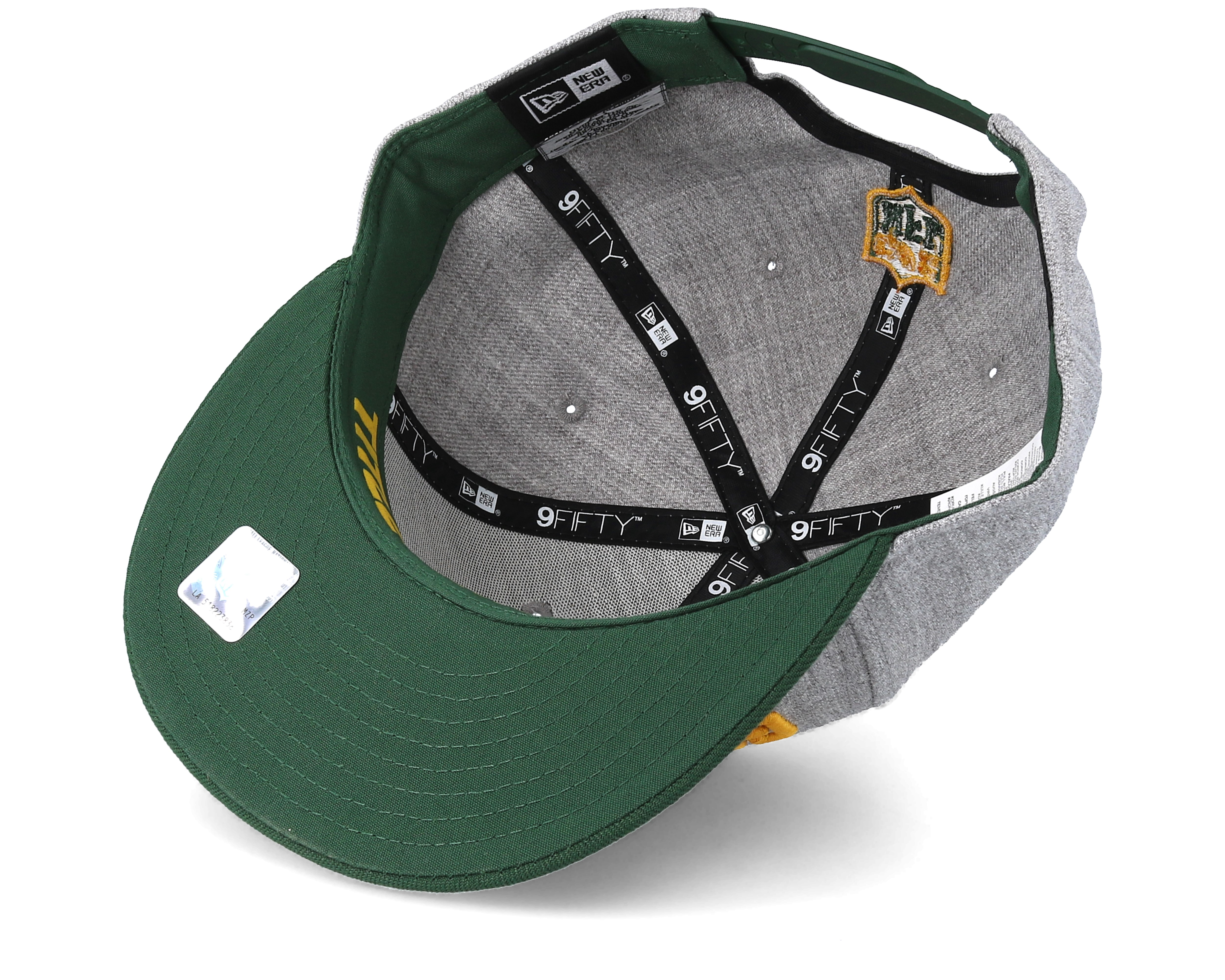 new style a95f2 50635 Product information Green Bay Packers 2018 NFL Draft On-Stage Grey Green  Snapback - New Era
