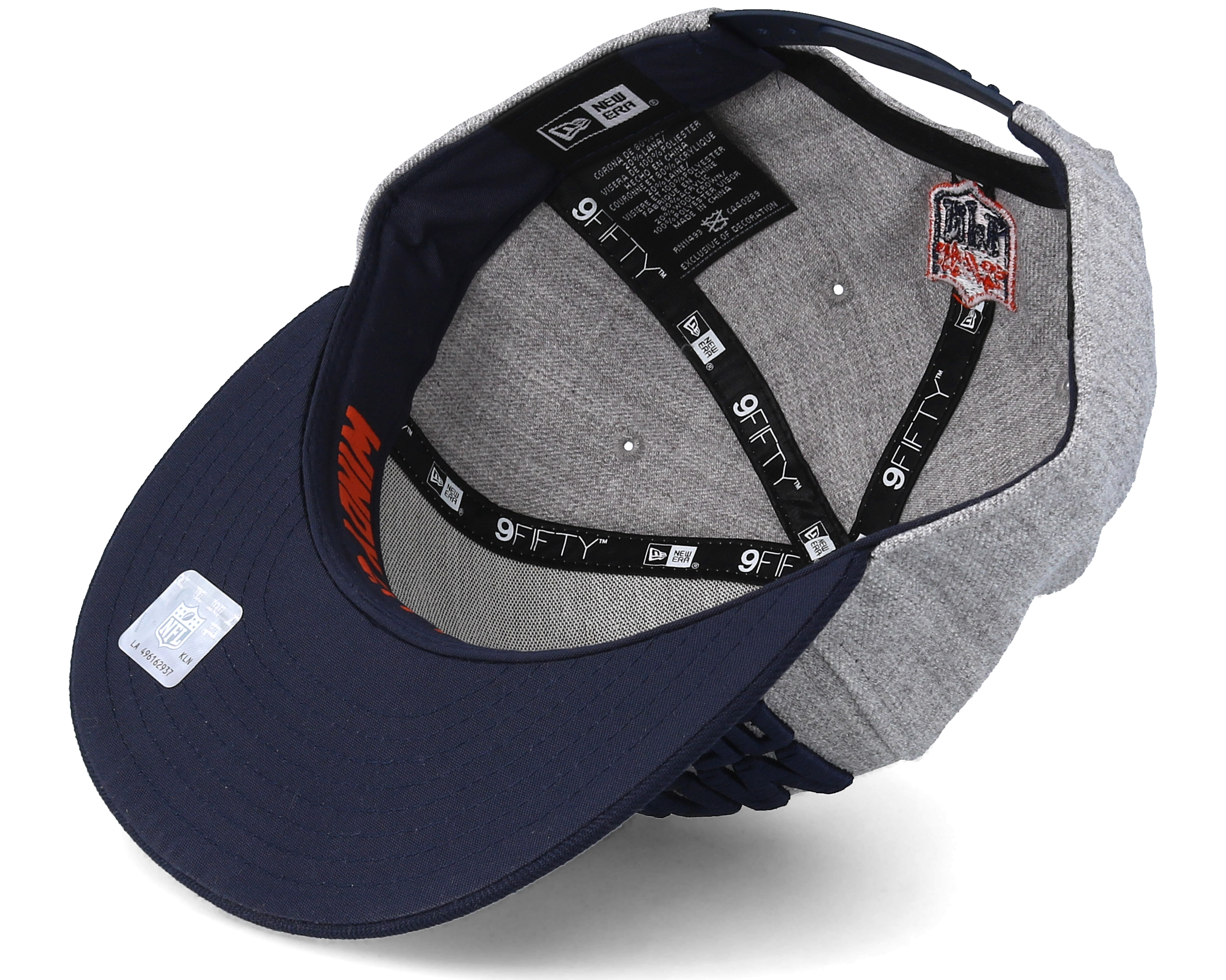 Chicago Bears 2018 Nfl Draft On Stage Grey Navy Snapback