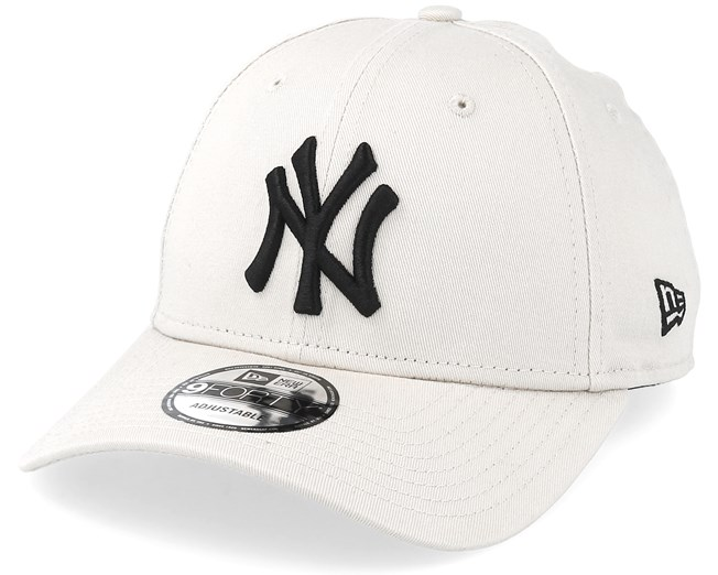de4dd90a4df28 New York Yankees 9Forty Essential Stone/Black Adjustable - New Era - Start  Boné - Hatstore