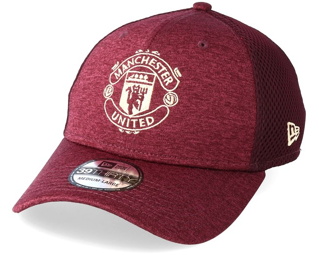 f72110cfcdb Manchester United Stretch Specter Mesh 39Thirty Maroon Flexfit - New Era cap  - Hatstore.co.in