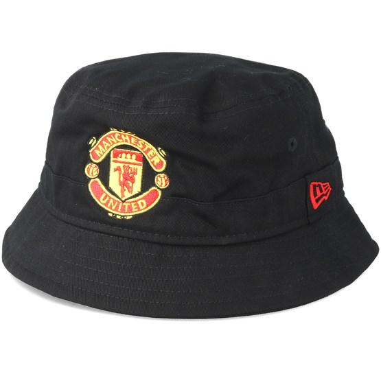 Hatt Manchester United Essential Black Bucket - New Era - Svart Bucket