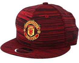 Manchester United Engineered 9Fifty Scarlet Snapback - New Era