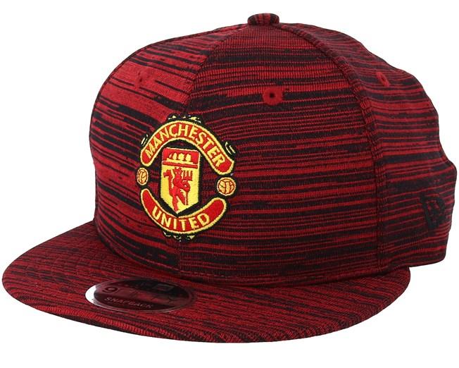 Manchester United Engineered 9Fifty Scarlet Snapback - New Era - Start Gorra  - Hatstore 0611ffbe9d6