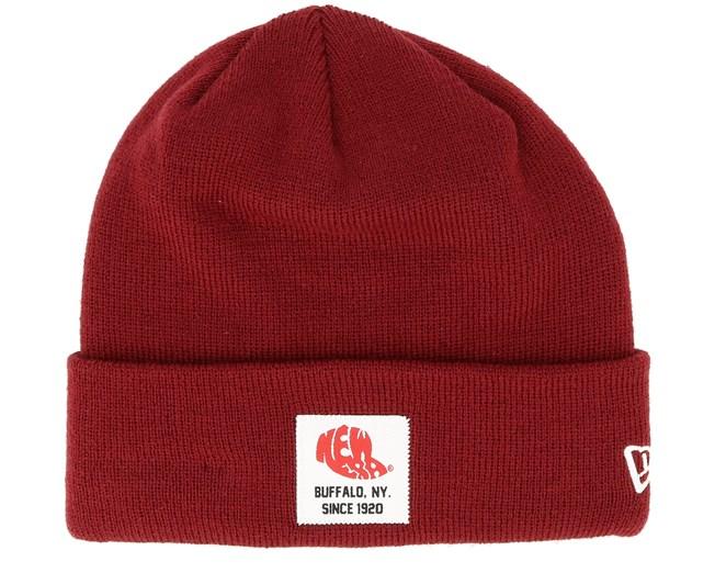 wholesale dealer c1b96 564ac None Essential Patch Knit Cardinal Cuff - New Era