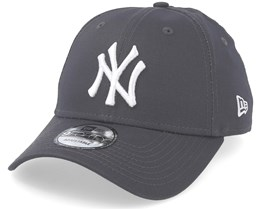 New York Yankees 9Forty Seasonal Contrast Charcoal/White Adjustable - New Era