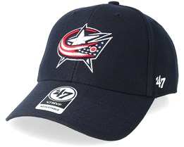 Columbus Blue Jackets MVP Wool Navy Adjustable - 47 Brand