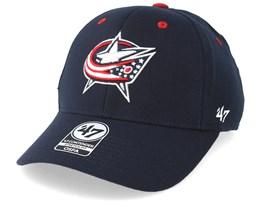 Columbus Blue Jackets Kickoff 47 Contender Wool Navy Flexfit - 47 Brand