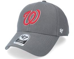 Washington Capitals  Mvp Charcoal Adjustable - 47 Brand