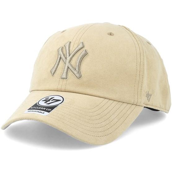 2f674aaf8 New York Yankees Ultrabasic Clean Up Khaki Adjustable - 47 Brand