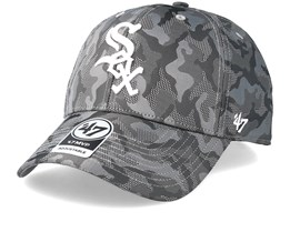 Chicago White Sox Smokelin Mvp Grey Camo Adjustable - 47 Brand