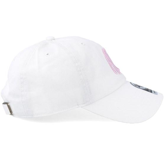 568d1fc30 New York Yankees Clean Up White/Petal Pink Adjustable - 47 Brand