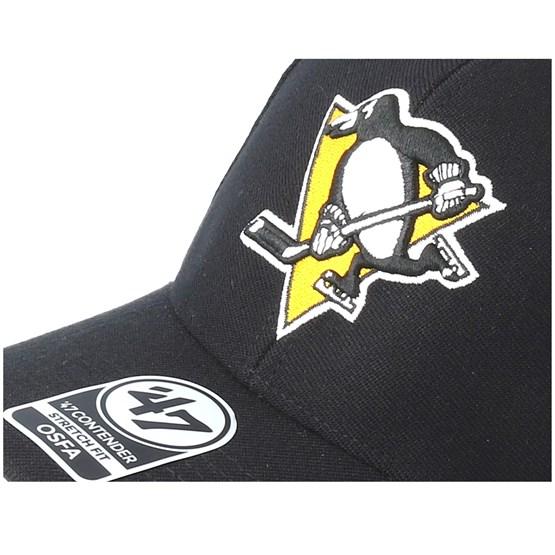newest 8a70d e4268 Pittsburgh Penguins Contender Black Flexfit - 47 Brand caps -  Hatstorecanada.com