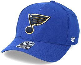St. Louis Blues Royal Contender Flexfit - 47 Brand