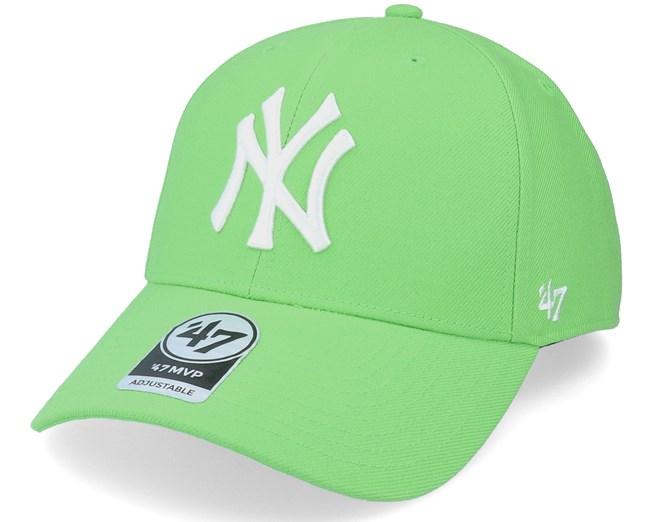 New York Yankees Mvp Lime Adjustable - 47 Brand lippis - Hatstore.fi 7224586d87