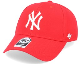 46e221593c281 New York Yankees Mvp Red Adjustable - 47 Brand