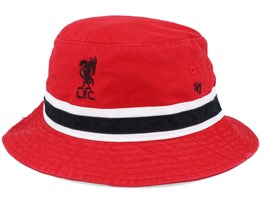 Liverpool Striped Red/Black Bucket - 47 Brand
