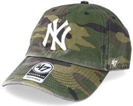 a642f1394ba New York Yankees 47 Clean Up Camo White Adjustable - 47 Brand