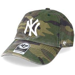 6cb4816d993 47 Brand New York Yankees 47 Clean Up Camo White Adjustable - 47 Brand   29.99
