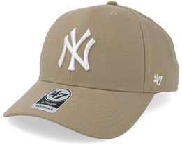 New York Yankees 47 Mvp Khaki/White Adjustable - 47 Brand