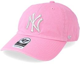 New York Yankees Metallic 47 Clean Up Rose Adjustable - 47 Brand 0d2cc0e7d13