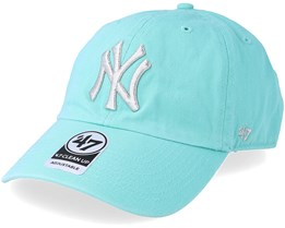new style c6332 0d915 New York Yankees Metallic 47 Clean Up Tuffany Blue Adjustable - 47 Brand