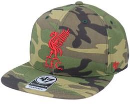 Liverpool FC Grove Captain Camo Snapback - 47 Brand