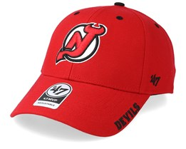 New Jersey Devils Defrost 47 Mvp Black Red/Black Adjustable - 47 Brand
