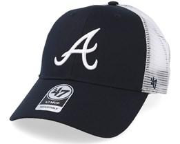 Atlanta Braves Branson Mesh Navy Trucker - 47 Brand