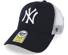new concept f97ee 766c1 Kids New York Yankees Branson 47 Mvp Mesh Navy White Trucker - 47 Brand