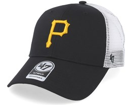 Pittsburgh Pirates Branson Mesh Black Trucker - 47 Brand