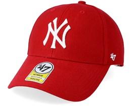 Kids New York Yankees Clean Up Red Adjustable - 47 Brand