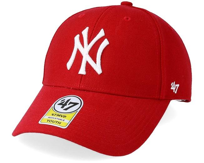 buy online b5fb1 06dc4 Kids New York Yankees Clean Up Red Adjustable - 47 Brand caps -  Hatstorecanada.com