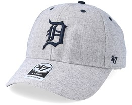 Detroit Tigers Storm Cloud Mvp Charcoal Adjustable - 47 Brand