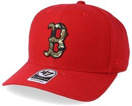 Boston Red Sox Camfill Red/Camo Adjustable - 47 Brand