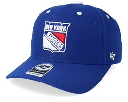 f260850a050b9 New York Rangers Audible 47 Mvp Royal White Adjustable - 47 Brand
