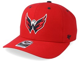 Washington Capitals Audible 47 Mvp Light Red/Black Adjustable - 47 Brand