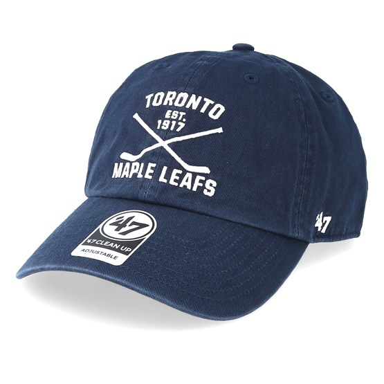 CLEAN UP Toronto Maple Leafs navy 47 Brand Adjustable Cap