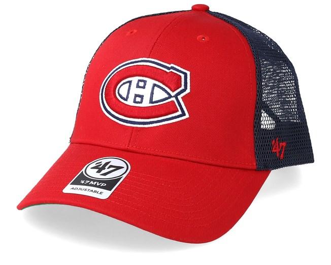 timeless design 127ca 3351f Montreal Canadiens Branson 47 Mvp Mesh Red Navy Trucker - 47 Brand - Start  Kšiltovka - Hatstore.cz