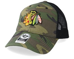 Chicago Blackhawks 47 Mvp Camo/Black Trucker - 47 Brand